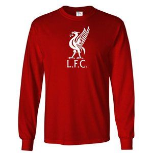 Youth Kids Liverpool L.F.C Logo Soccer Long Sleeve